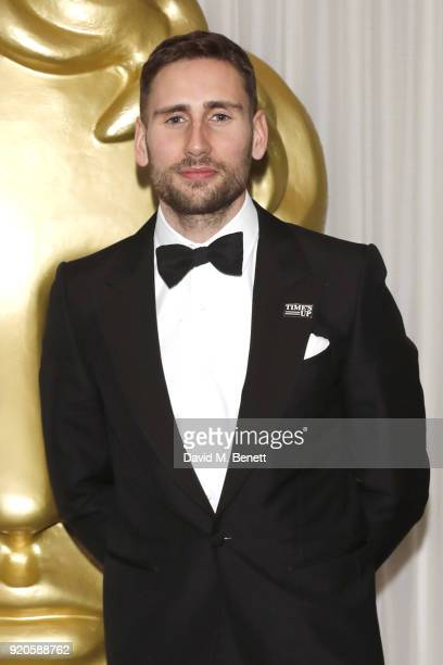 Edward Holcroft attends the EE British Academy Film Awards gala dinner held at Grosvenor House on February 18 2018 in London England