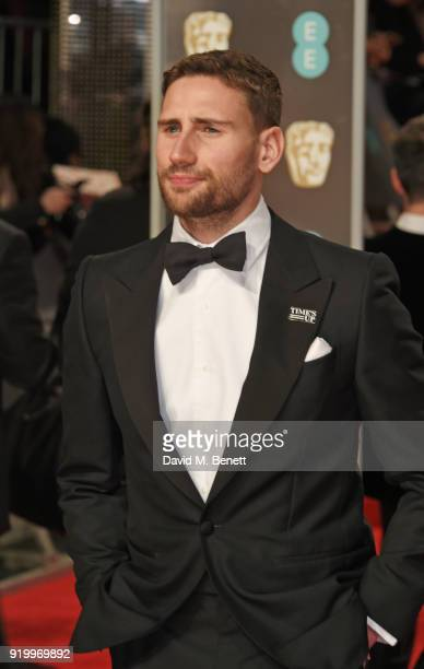 Edward Holcroft attends the EE British Academy Film Awards held at Royal Albert Hall on February 18 2018 in London England