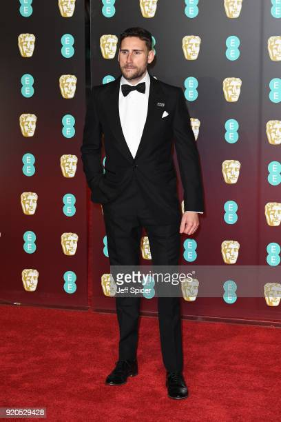 Edward Holcroft attends the EE British Academy Film Awards held at Royal Albert Hall on February 18, 2018 in London, England.