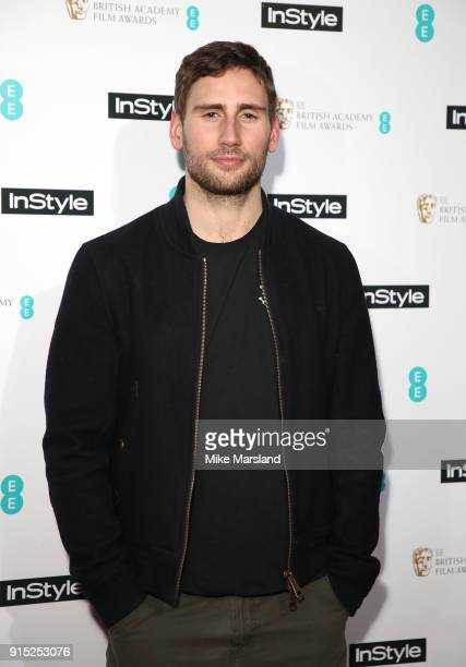 Edward Holcroft attends the EE InStyle Party held at Granary Square Brasserie on February 6 2018 in London England