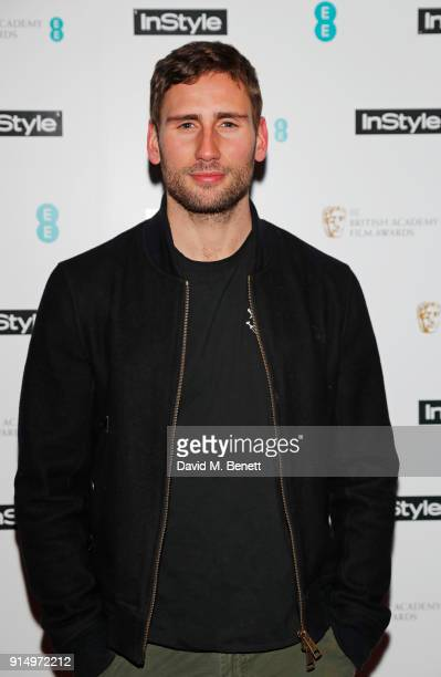 Edward Holcroft attends the InStyle EE Rising Star Party at Granary Square on February 6 2018 in London England