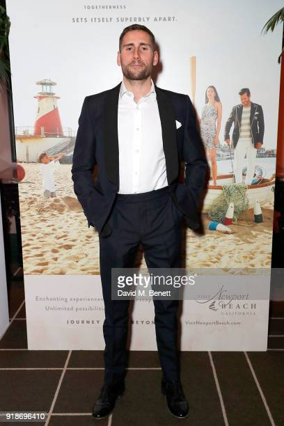 Edward Holcroft attends the Newport Beach Film Festival UK Honours in association with Visit Newport Beach at The Rosewood Hotel on February 15 2018...