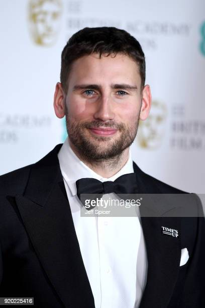 Edward Holcroft poses in the press room during the EE British Academy Film Awards held at Royal Albert Hall on February 18 2018 in London England