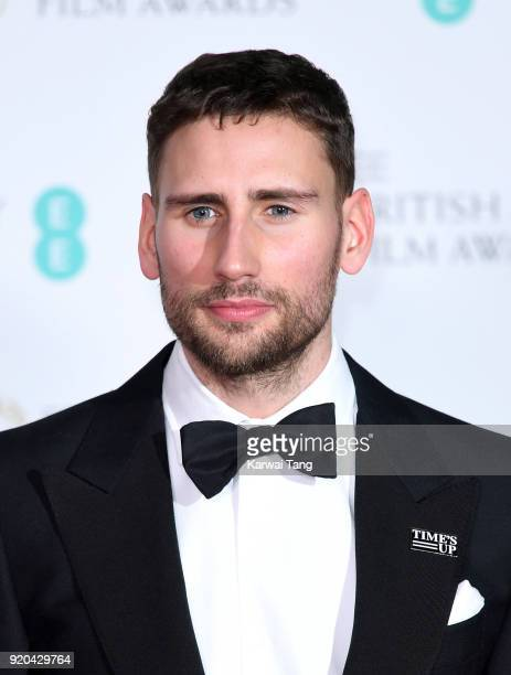 Edward Holcroft poses in the press room during the EE British Academy Film Awards held at the Royal Albert Hall on February 18 2018 in London England