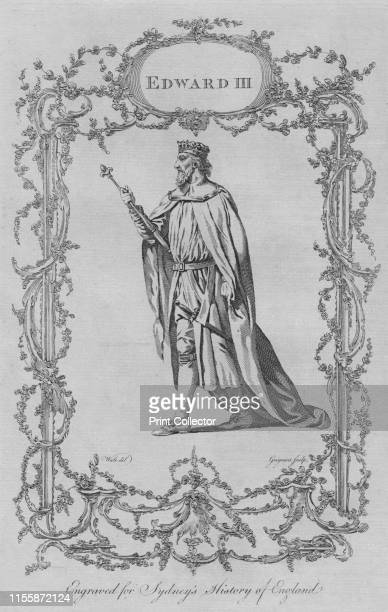 Edward III' 1773 After Samuel Wale Edward III of England noted for his military success and for restoring royal authority in medieval England From A...