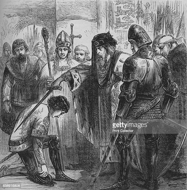 Edward III Knighting the Black Prince' Edward of Woodstock the Black Prince was the eldest son of King Edward III In 1348 he was made a Founding...