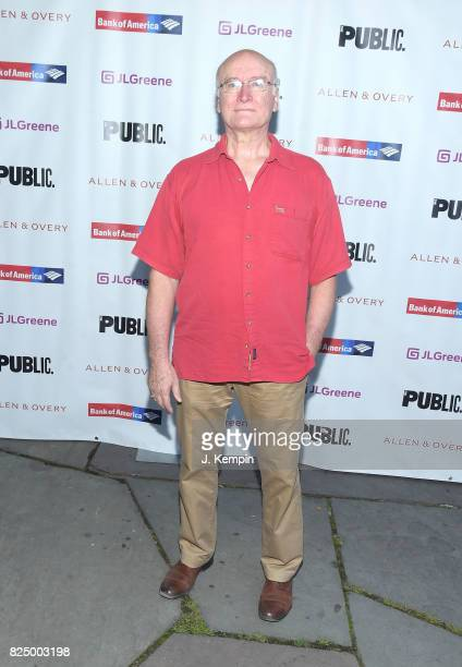 Edward James Hyland attends 'A Midsummer Night's Dream' Opening Night at Delacorte Theater on July 31 2017 in New York City