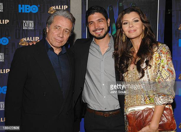 Edward James Olmos Alejandro Gomez Monteverde and Ali Landry
