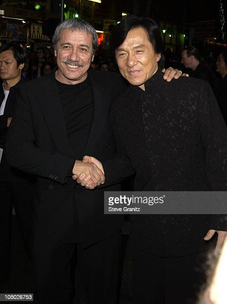 Edward James Olmos and actor / executive producer Jackie Chan