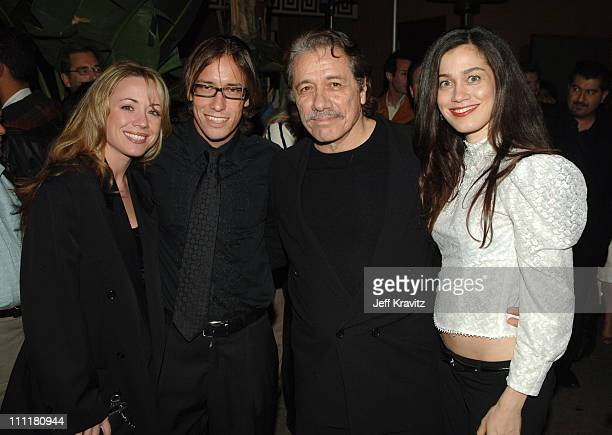 Edward James Olmos and guests during HBO Films Walkout Premiere Red Carpet and After Party at Cinerama Dome in Hollywood California United States