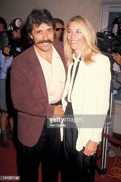 "Edward James Olmos and Kaija Keels at the Screening of ""Goodfellas"", Mann Bruin Theater, Westwood."