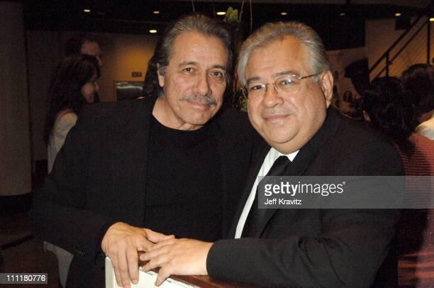 Edward James Olmos and Moctesuma Esparza producer