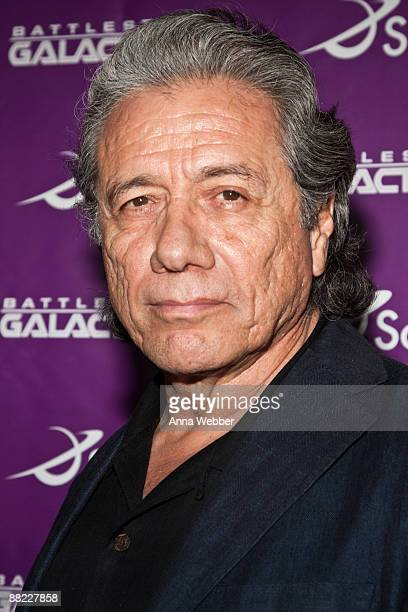 """Edward James Olmos arrives at The Envelope Screening Series' Panel Discussion of """"Battle Star Galactica"""">> at Mann Chinese 6 on June 4, 2009 in Los..."""