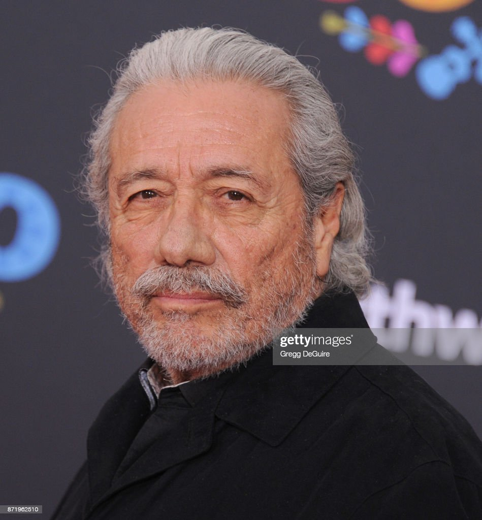 Edward James Olmos arrives at the premiere of Disney Pixar's 'Coco' at El Capitan Theatre on November 8, 2017 in Los Angeles, California.