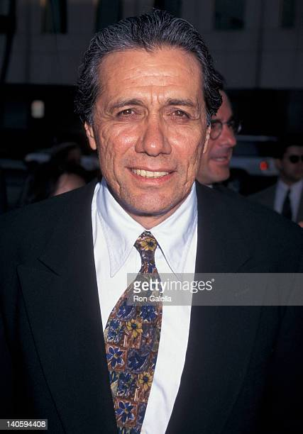 Edward James Olmos at the Premiere of '12 Angry Men' Academy Theater Beverly Hills