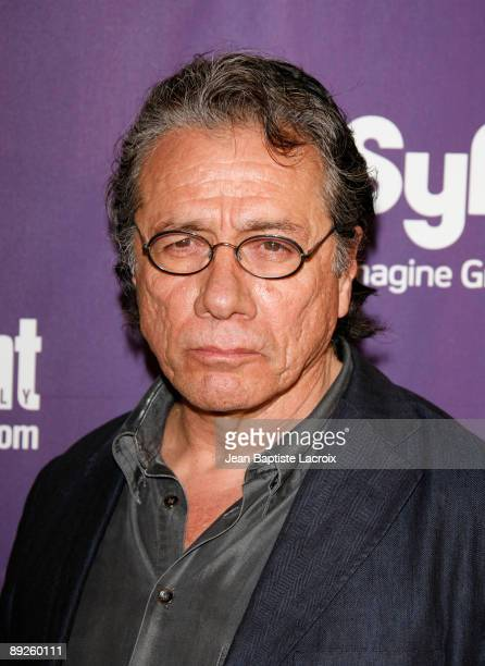 Edward James Olmos attends Entertainment Weekly's Syfy Party during Comic-Con 2009 held at Hotel Solamar on July 25, 2009 in San Diego, California.