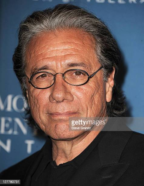 Edward James Olmos attends the 2011 Wiesental Center National Tribute Dinner In Honor Of Tom Cruise at the Beverly Wilshire Four Seasons Hotel on May...