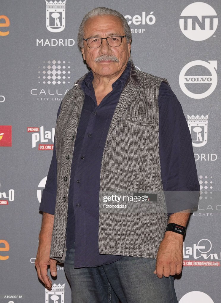 Edward James Olmos attends the 2017 Platino Awards Welcome Party at Callao Cinema on July 20, 2017 in Madrid, Spain.
