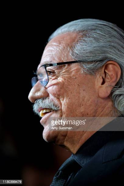 Edward James Olmos attends the 2019 Hollywood Beauty Awards at Avalon Hollywood on February 17 2019 in Los Angeles California