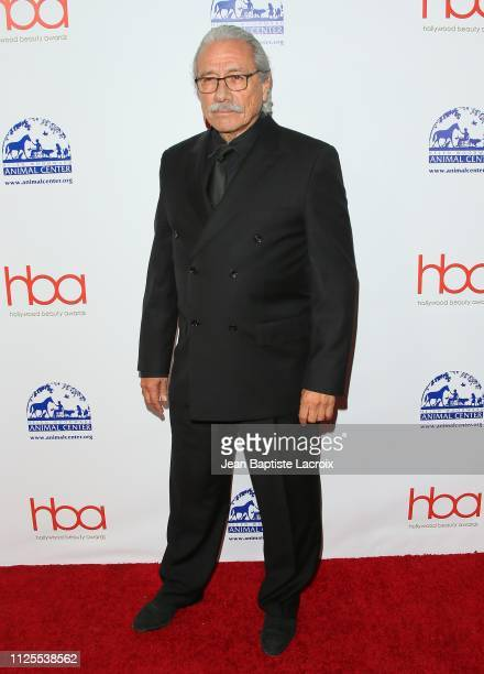 Edward James Olmos attends the 2019 Hollywood Beauty Awards on February 17 2019 in Los Angeles California
