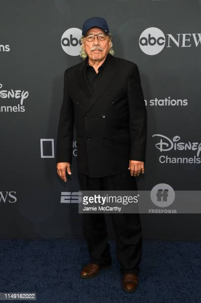 Edward James Olmos attends the ABC Walt Disney Television Upfront on May 14 2019 in New York City