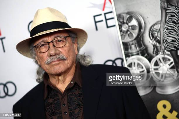 """Edward James Olmos attends the AFI FEST 2019 Presented By Audi premiere of """"Queen & Slim"""" at TCL Chinese Theatre on November 14, 2019 in Hollywood,..."""