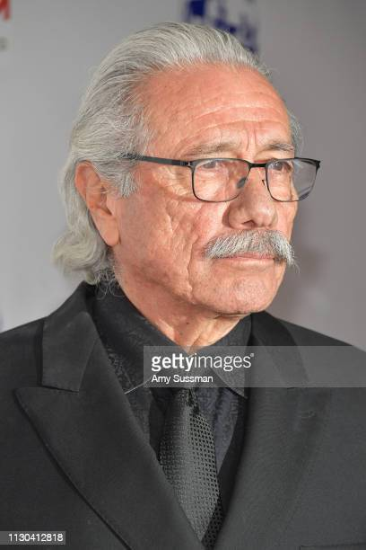 Edward James Olmos attends the Hollywood Beauty Awards at Avalon Hollywood on February 17 2019 in Los Angeles California