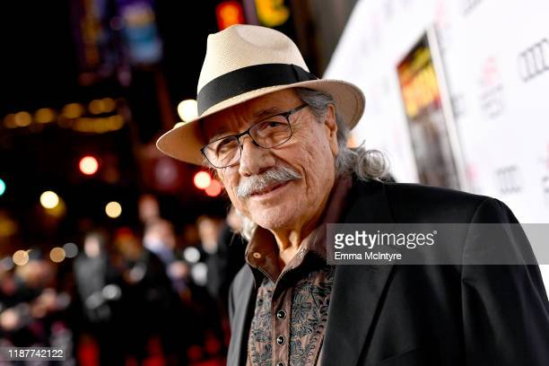 """Edward James Olmos attends the """"Queen & Slim"""" Premiere at AFI FEST 2019 presented by Audi at the TCL Chinese Theatre on November 14, 2019 in..."""