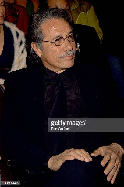 Edward James Olmos during 2006 NCLR ALMA Awards Backstage and Audience at Shrine Auditorium in Los Angeles California United States