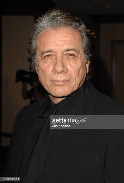 Edward James Olmos during 59th Annual Directors Guild of America Awards Arrivals at Hyatt Regency Century Plaza in Los Angeles California United...