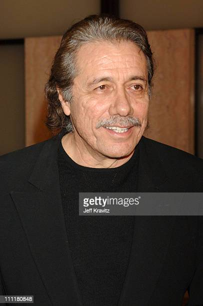 Edward James Olmos during HBO Films Walkout Premiere Red Carpet and After Party at Cinerama Dome in Hollywood California United States