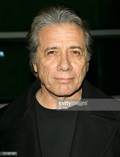 Edward James Olmos during The Boyle Heights Music and Arts Program Launch Arrivals at Boyle Heights School in Los Angeles California United States