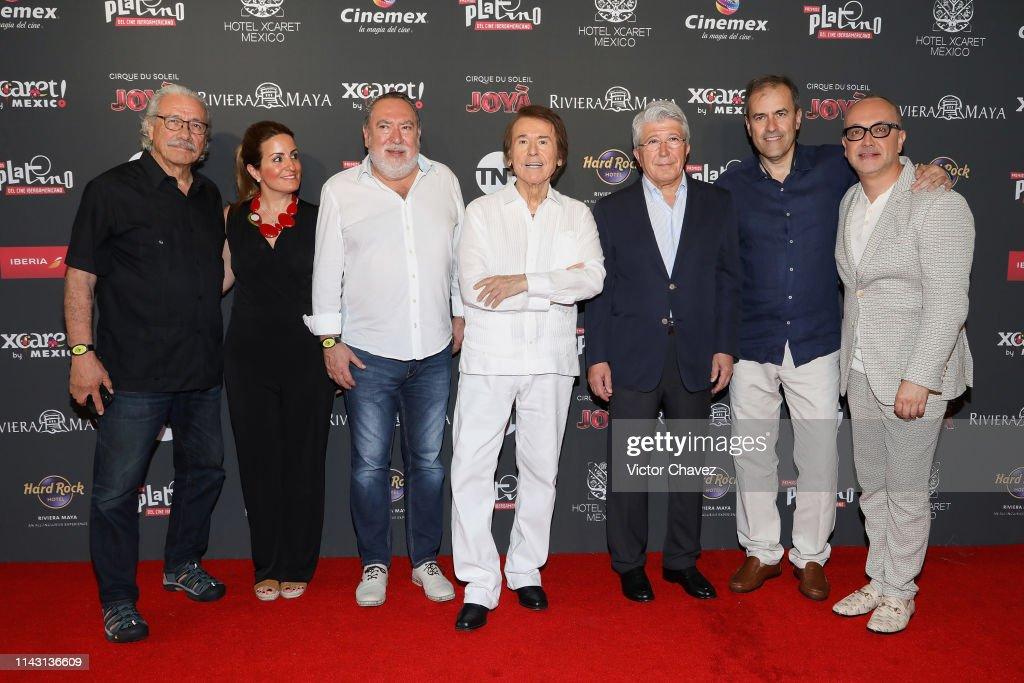 Platino Honorary Award Press Conference : News Photo