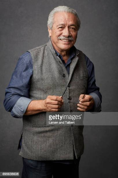 Edward James Olmos is photographed for Entertainment Weekly Magazine on June 9 2017 in Austin Texas