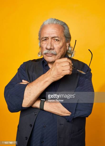 Edward James Olmos of 'Mayans M.C.' poses for a portrait at the Pizza Hut Lounge at 2019 Comic-Con International: San Diego on July 20, 2019 in San...