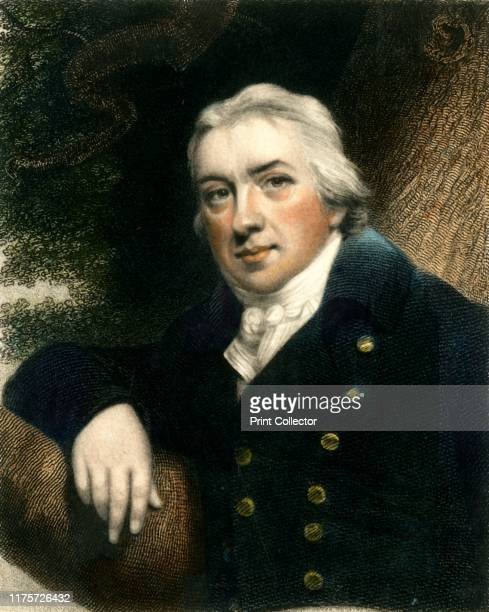 Edward Jenner late 18thearly 19th century Portrait of English physician Edward Jenner Jenner practiced as a country doctor in his native...