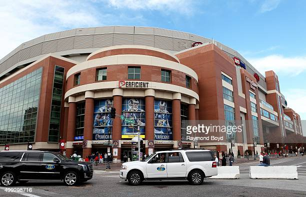 Edward Jones Dome home of the St Louis Rams football team hours before a Chicago Bears vs St Louis Rams football game in St Louis Missouri on...