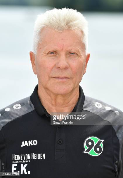 Edward Kowalczuk athletic coach of Hannover 96 poses during the team presentation at on July 14 2017 in Hanover Germany