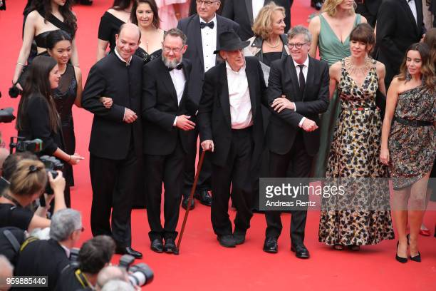 Edward LachmanTodd Haynesa guest and Elodie Bouchez attend the screening of The Wild Pear Tree during the 71st annual Cannes Film Festival at Palais...