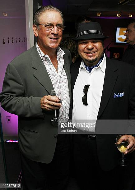 Edward M Kalman and musician Michael Castaldo attend the New York Chapter of the National Academy of Recording Arts and Sciences Open House Reception...