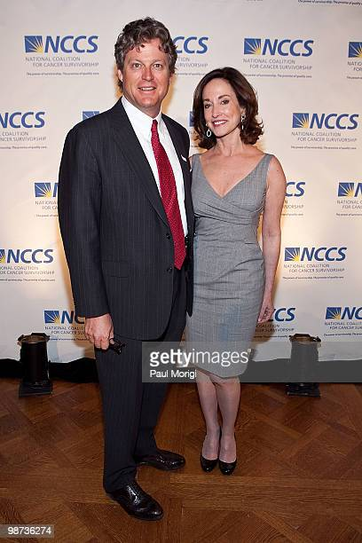 Edward M Kennedy Jr and Lilly Tartikoff attend the 2010 NCCS Rays of Hope awards gala at the Andrew W Mellon Auditorium on April 28 2010 in...