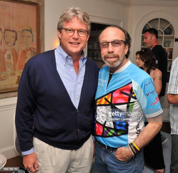 Edward M Kennedy Jr and Producer Bernie Yuman attend the Best Buddies Challenge Hyannis Port After Party on June 1 2013 in Hyannis Port Massachusetts