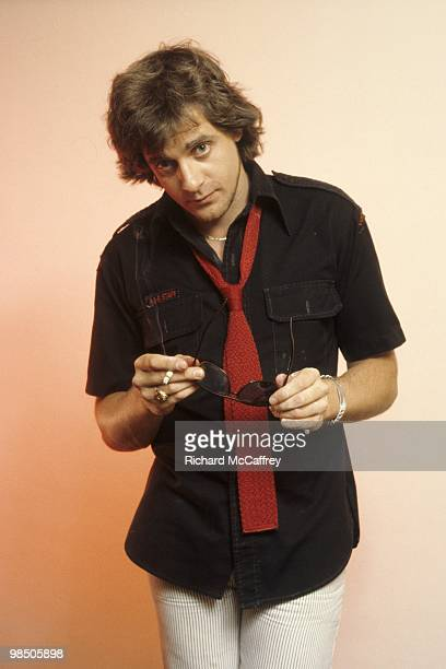 Edward Mahoney aka Eddie Money posing for the camera in 1976 in San Francisco California