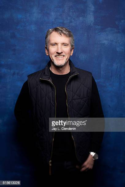 Edward Mapplethorpe from the film 'Mapplethorpe Look At The Pictures' poses for a portrait at the 2016 Sundance Film Festival on January 23 2016 in...