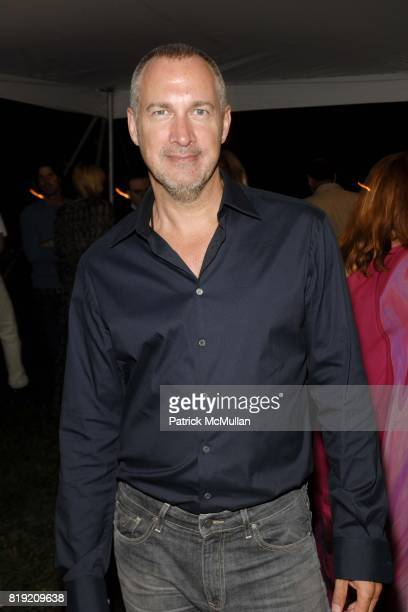 Edward Menicheschi attends ACRIA's Annual 'Cocktails at Sunset' Presented by Calvin Klein Collection Vanity Fair at Private Residence on July 31 2010...
