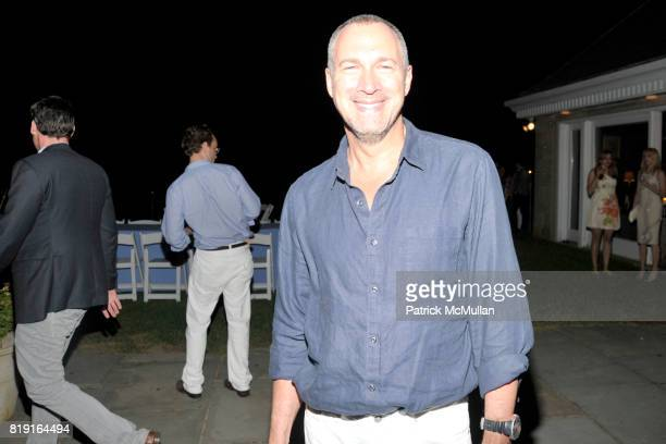 Edward Menicheschi attends THE CINEMA SOCIETY with VANITY FAIR HUGO BOSS host the after party for 'DINNER FOR SCHMUCKS' at Private Residence on July...
