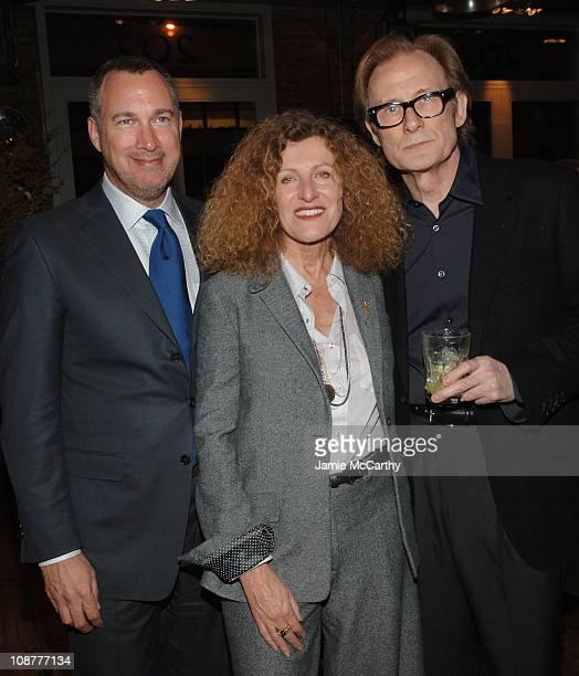 Edward Menicheschi Publisher and Vice President of 'Vanity Fair' Nicole Farhi and Bill Nighy