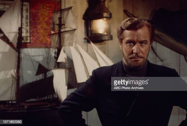 Edward Mulhare appearing on the Walt Disney Television via Getty Images's 'The Ghost Mrs Muir' episode 'Tourist Go Home'