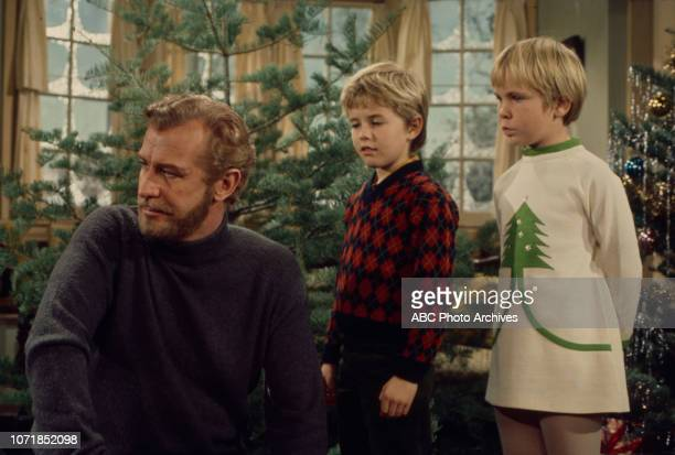 Edward Mulhare Harlen Carraher Kellie Flanagan appearing on the Walt Disney Television via Getty Images's 'The Ghost Mrs Muir' episode 'The Ghost of...