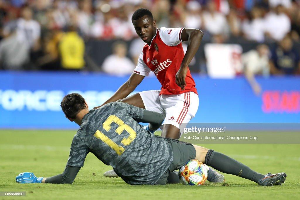 Real Madrid v Arsenal - 2019 International Champions Cup : ニュース写真